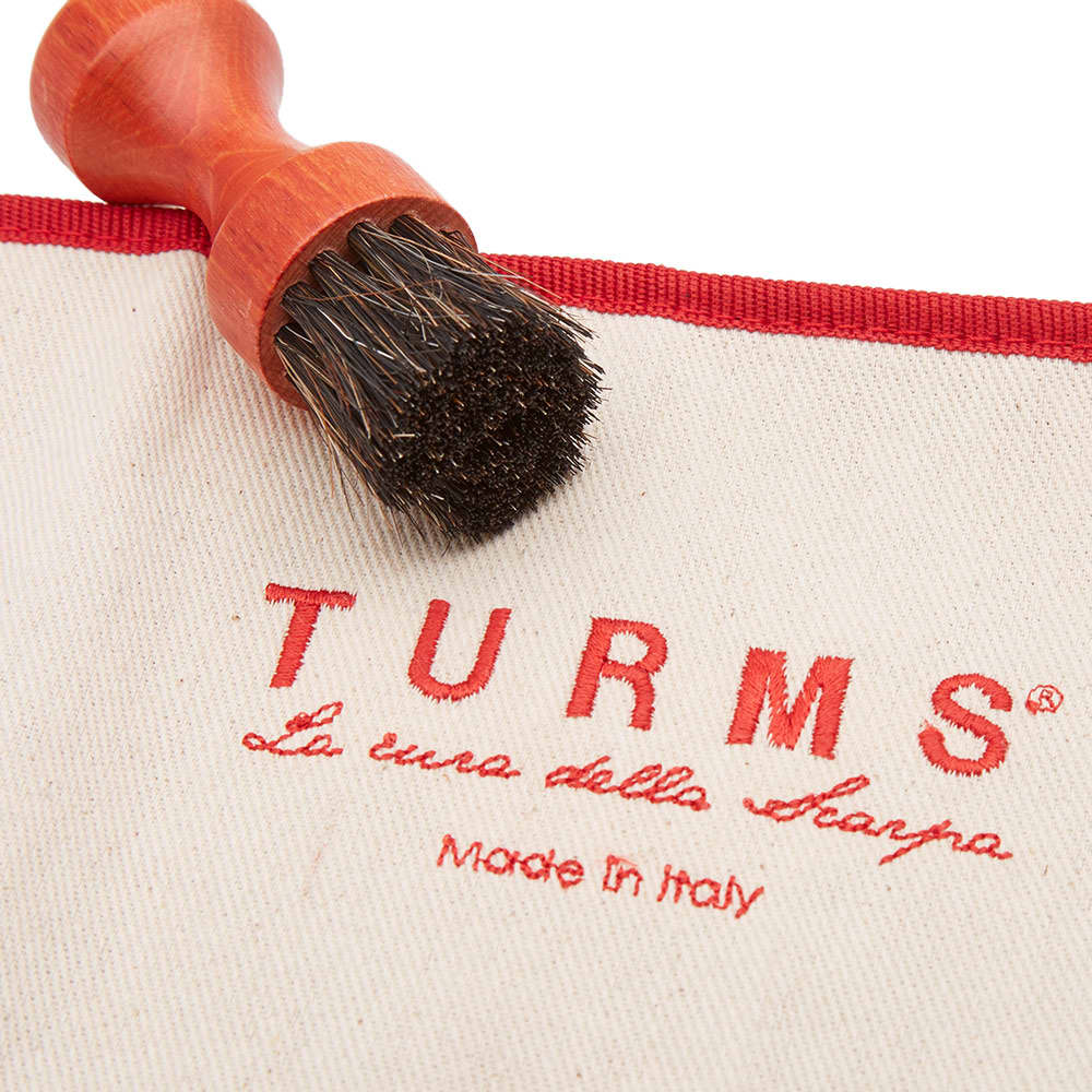 TURMS Hand Stitched Beauty Care Kit - Red
