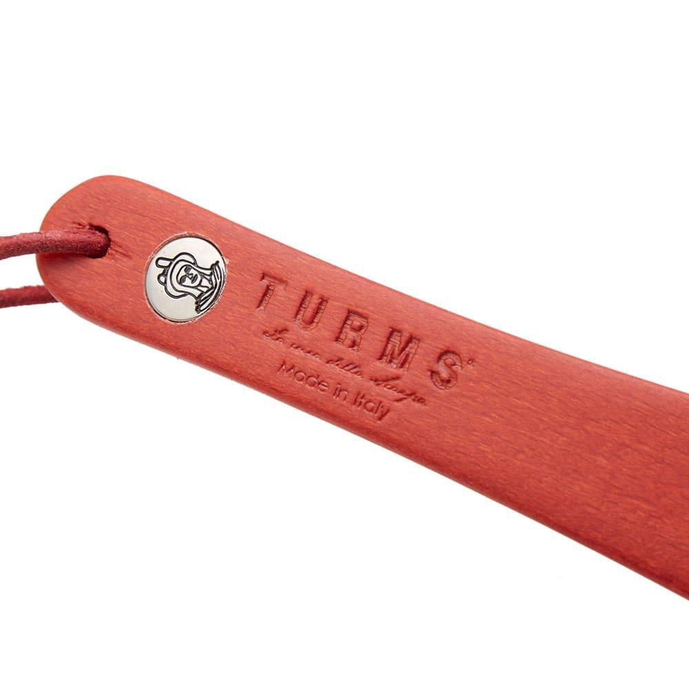 TURMS Medium Wooden Shoe Horn - Red