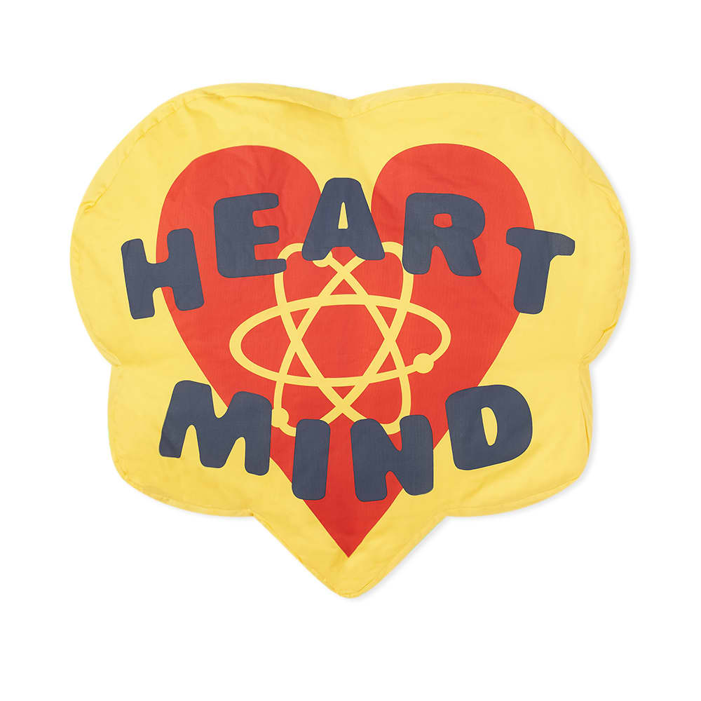 Billionaire Boys Club Heart & Mind Cushion - Red