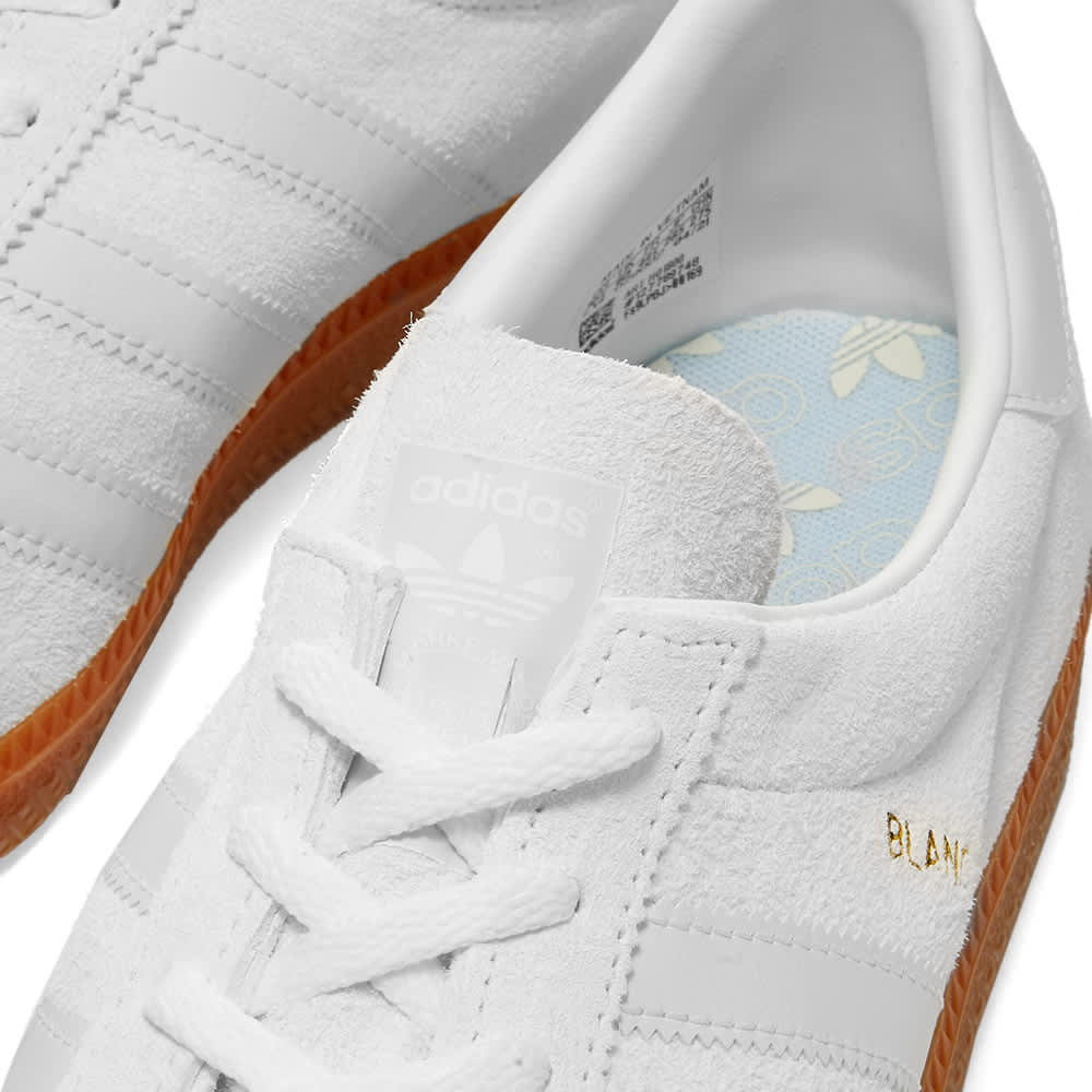 Adidas Blanc - White & Gold