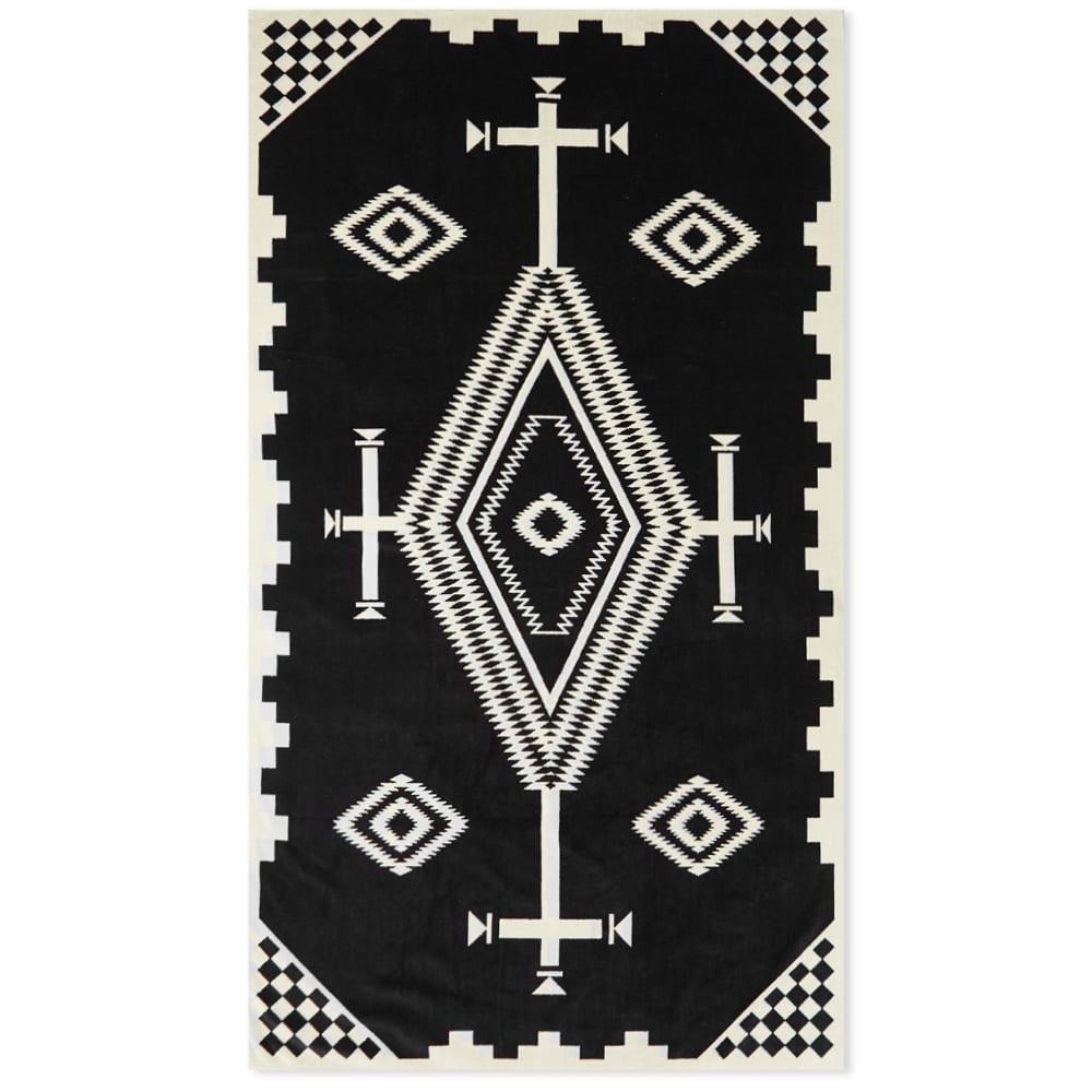 Pendleton Oversized Jacquard Towel - Black