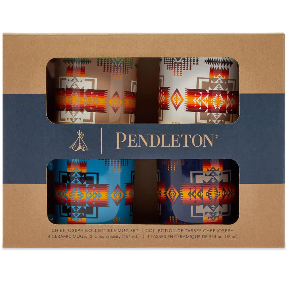 Pendleton Ceramic Mug - Set of 4 - Chief Joseph Multi