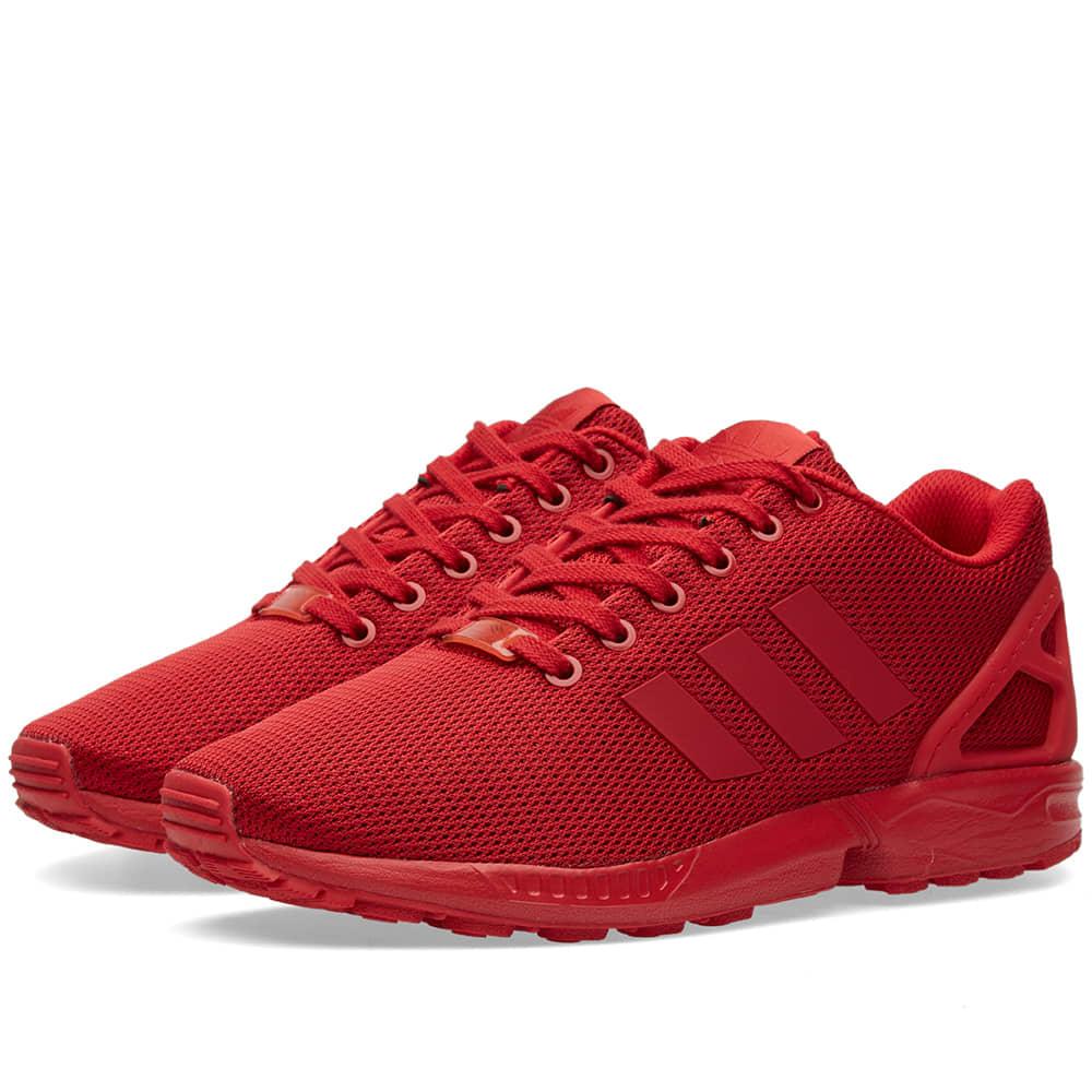 Adidas ZX Flux Power Red \u0026 Burgundy   END.