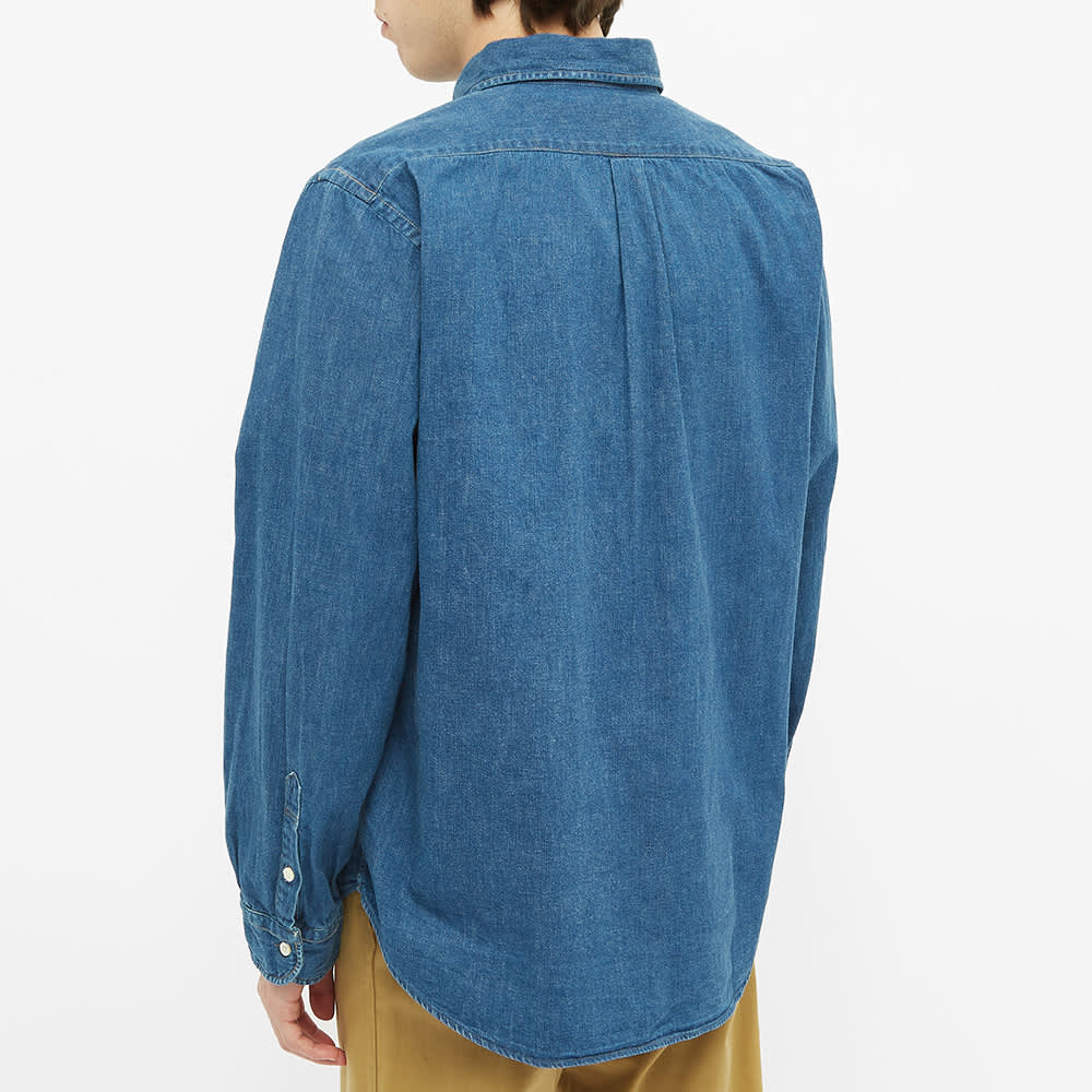 orSlow Button Down Denim Shirt - Used