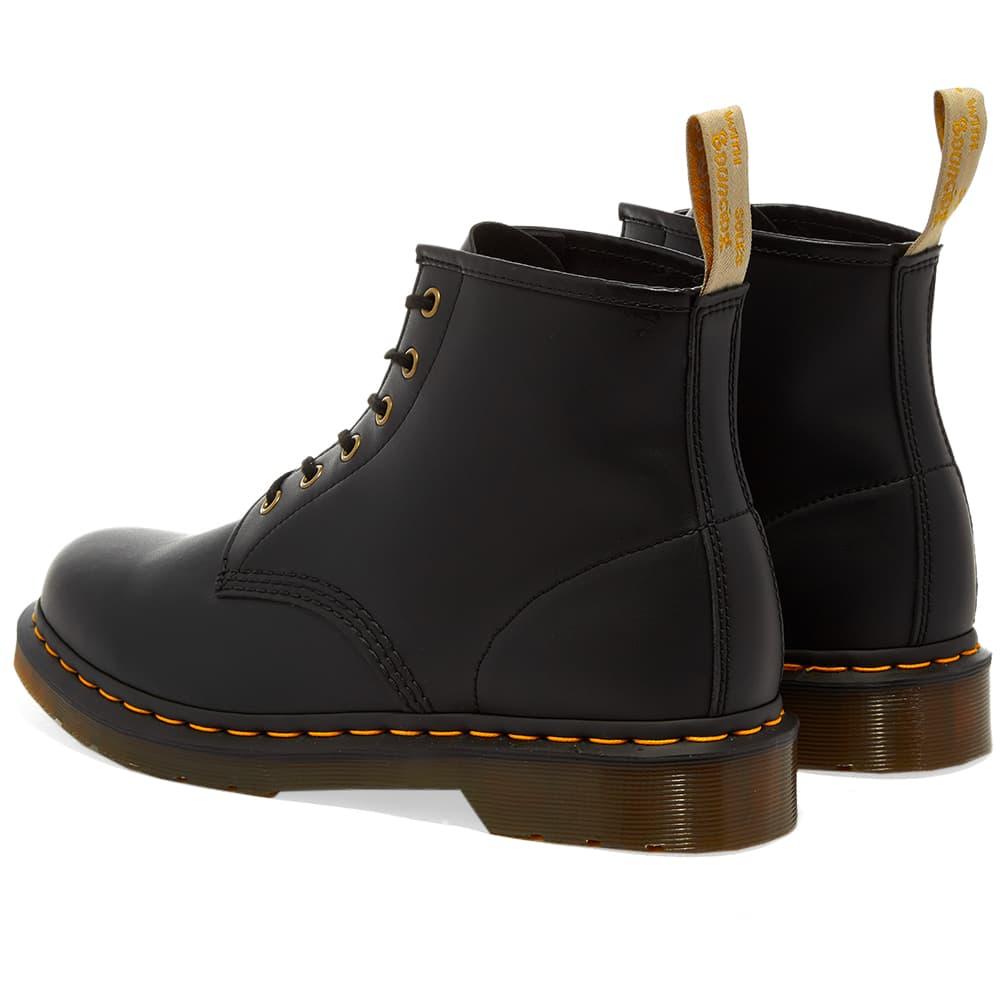 Dr. Martens 101 6-Eye Vegan Boot Black