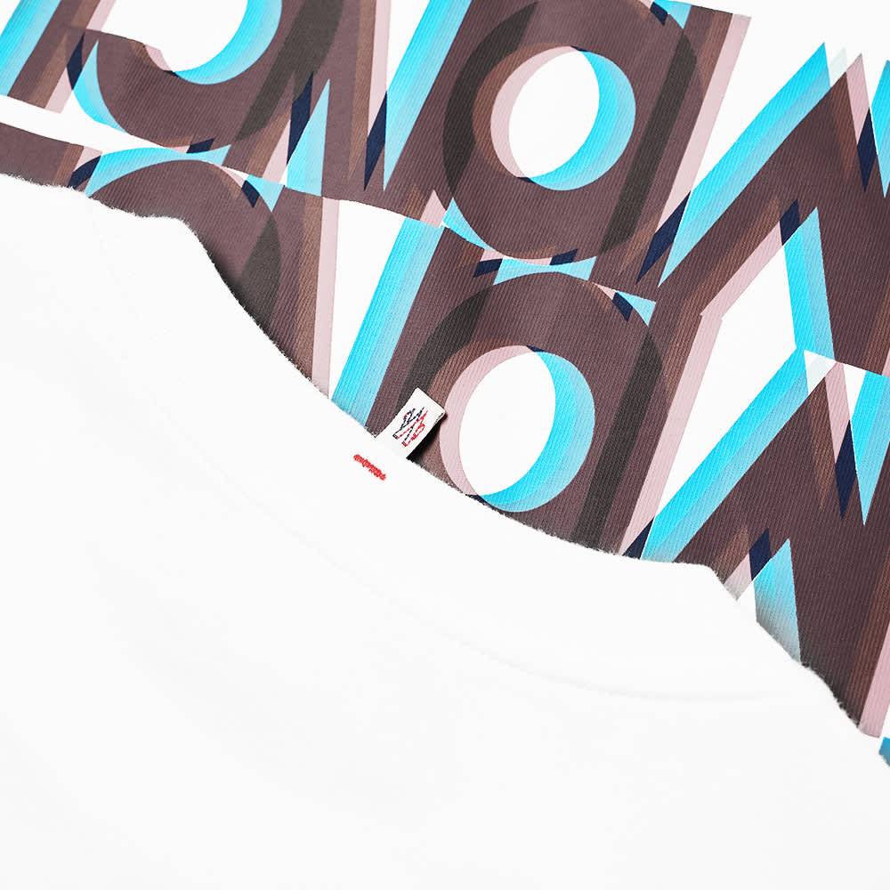 Moncler Grenoble Shadow Text Tee - White