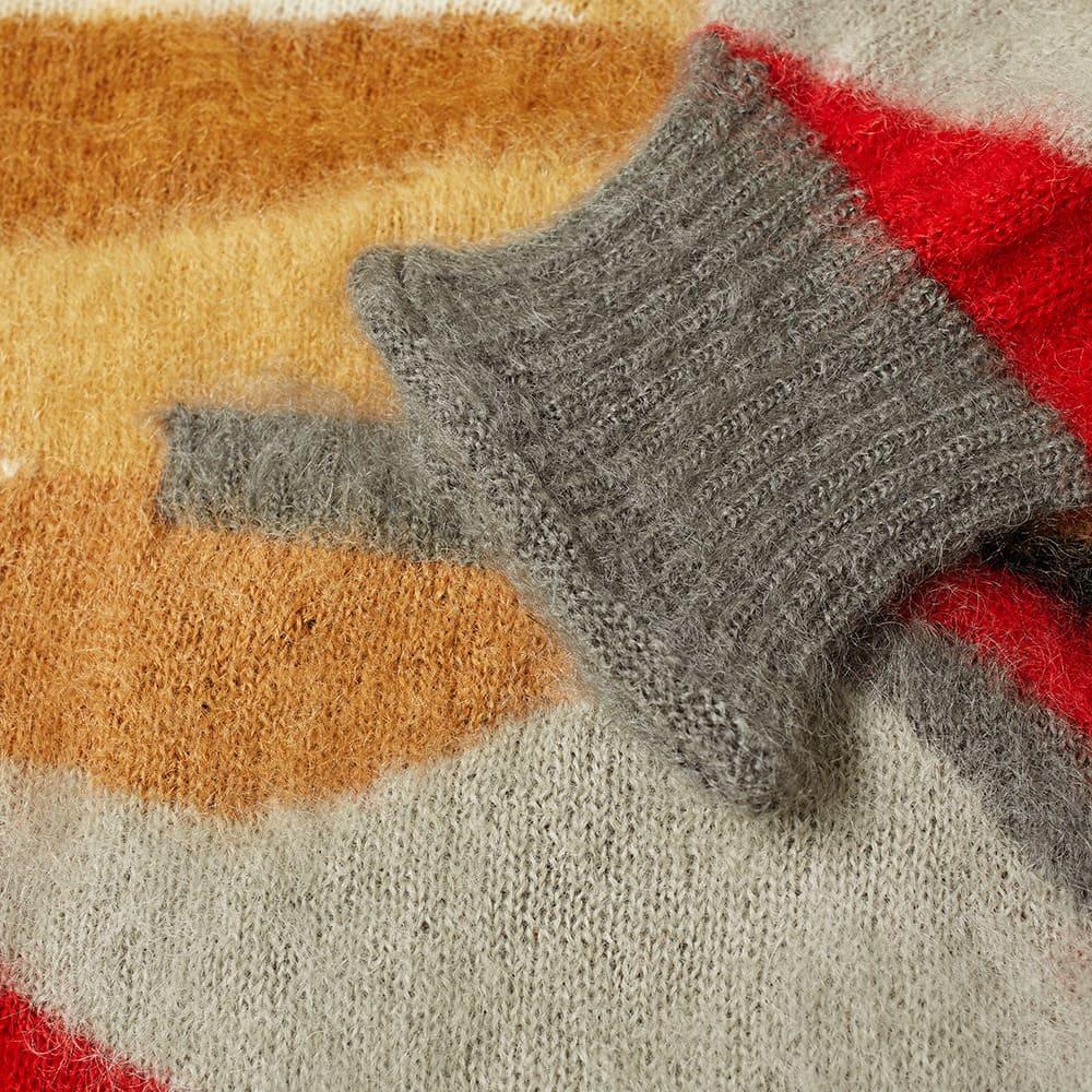 Undercover Oversized Patchwork Cardigan - Grey Mix