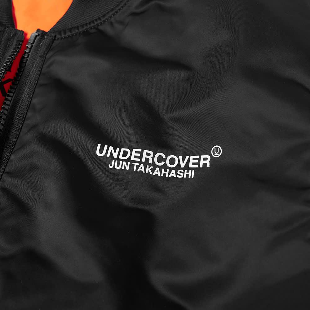 Undercover Reversible MA-1 Bomber Jacket - Black