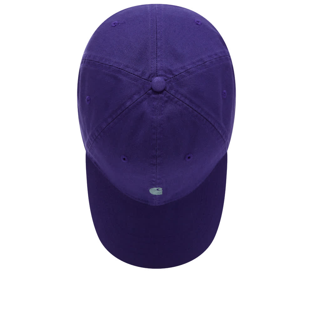 Carhartt WIP Madison Logo Cap - Dark Iris & Eucalyptus