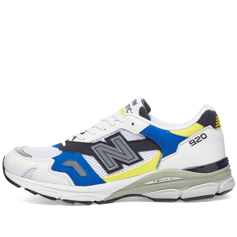 New Balance M920SB - Made in England - White & Blue