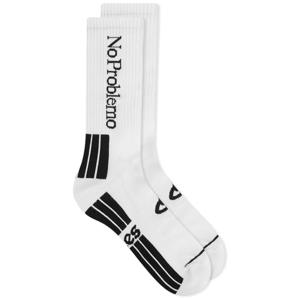 Aries No Problemo Sock - White
