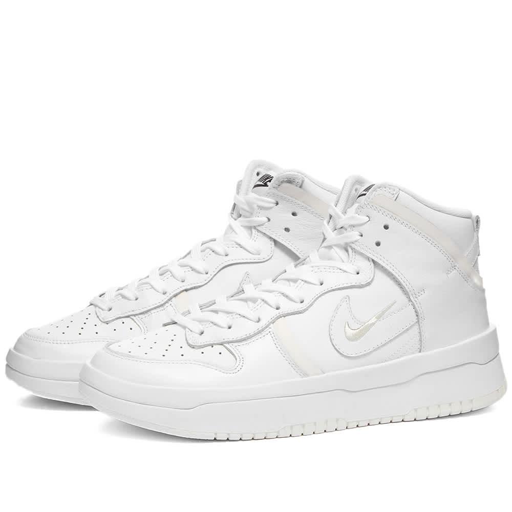 Nike Dunk Hi Rebel W - Summit White & White