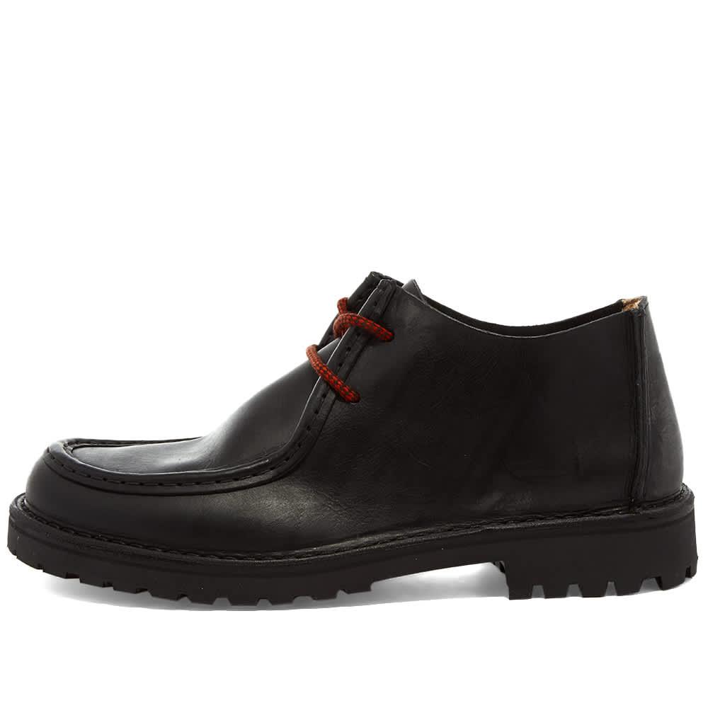 Astorflex Beenflex Leather Shoe - Black