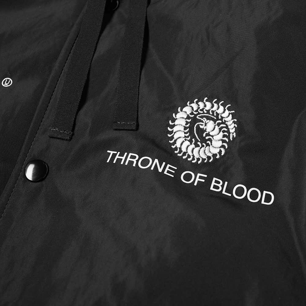 Undercover Hooded Back Print Jacket - Black