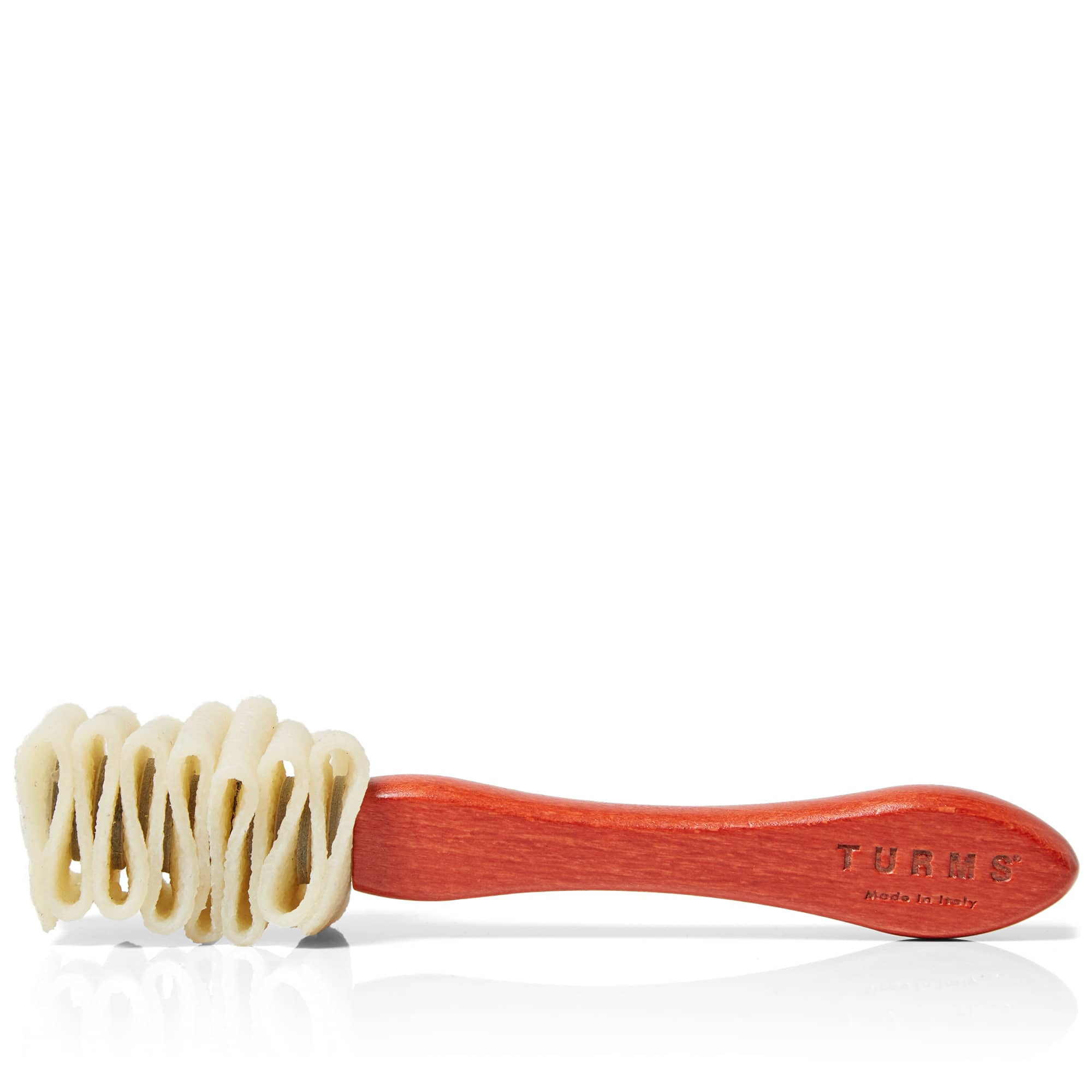 TURMS Natural Rubber Shoe Brush - Red