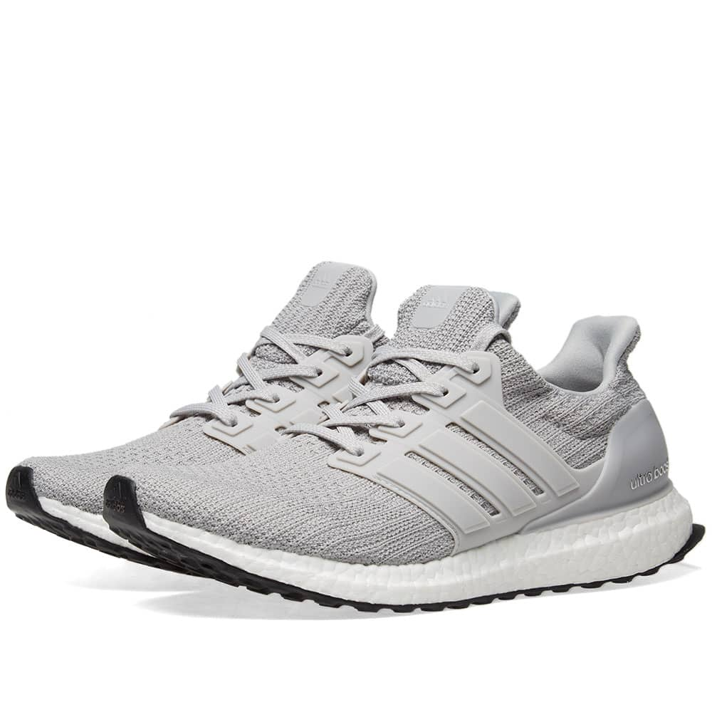 Adidas Ultra Boost 4.0 Grey Two \u0026 Core