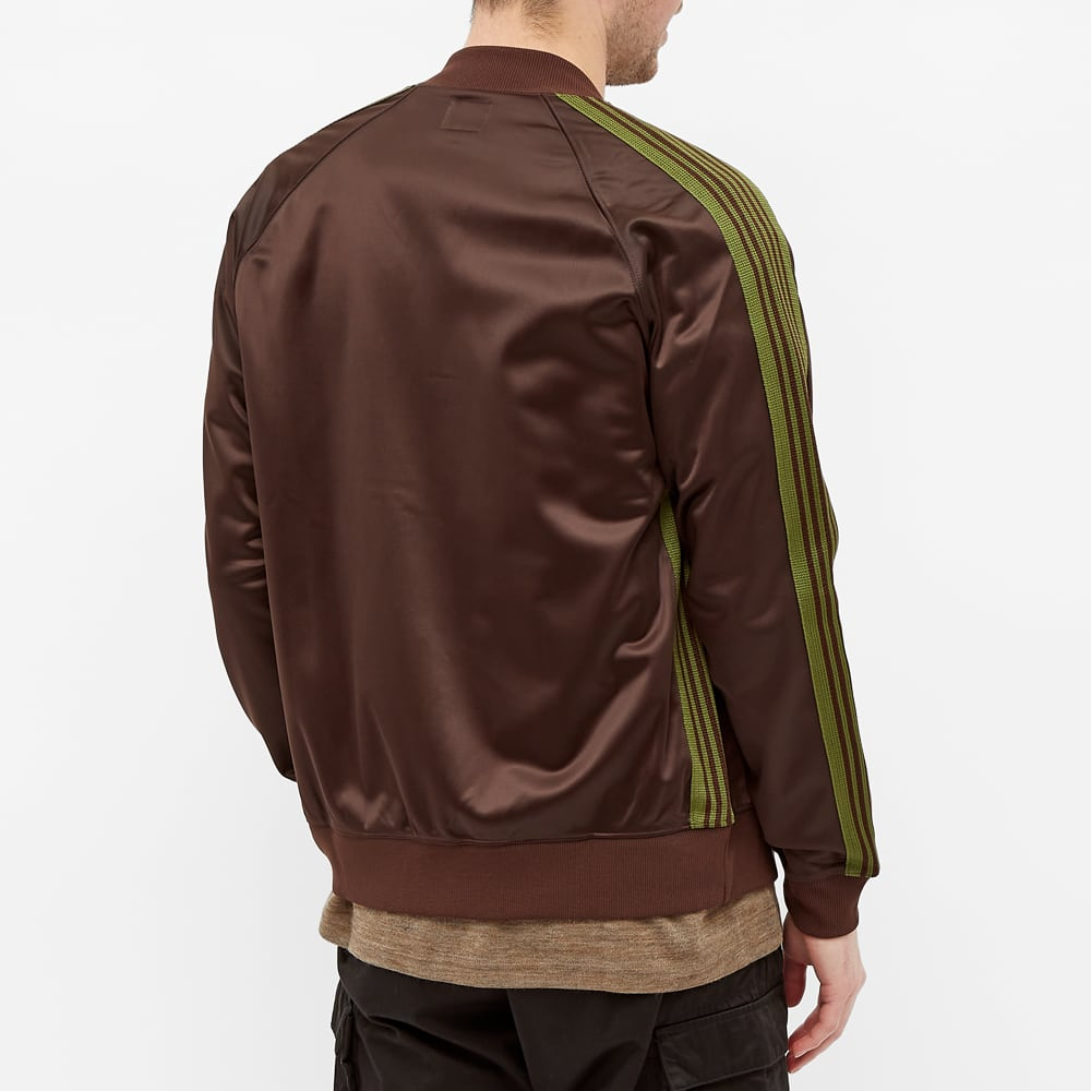 Needles Tricot Track Bomber Jacket - Brown