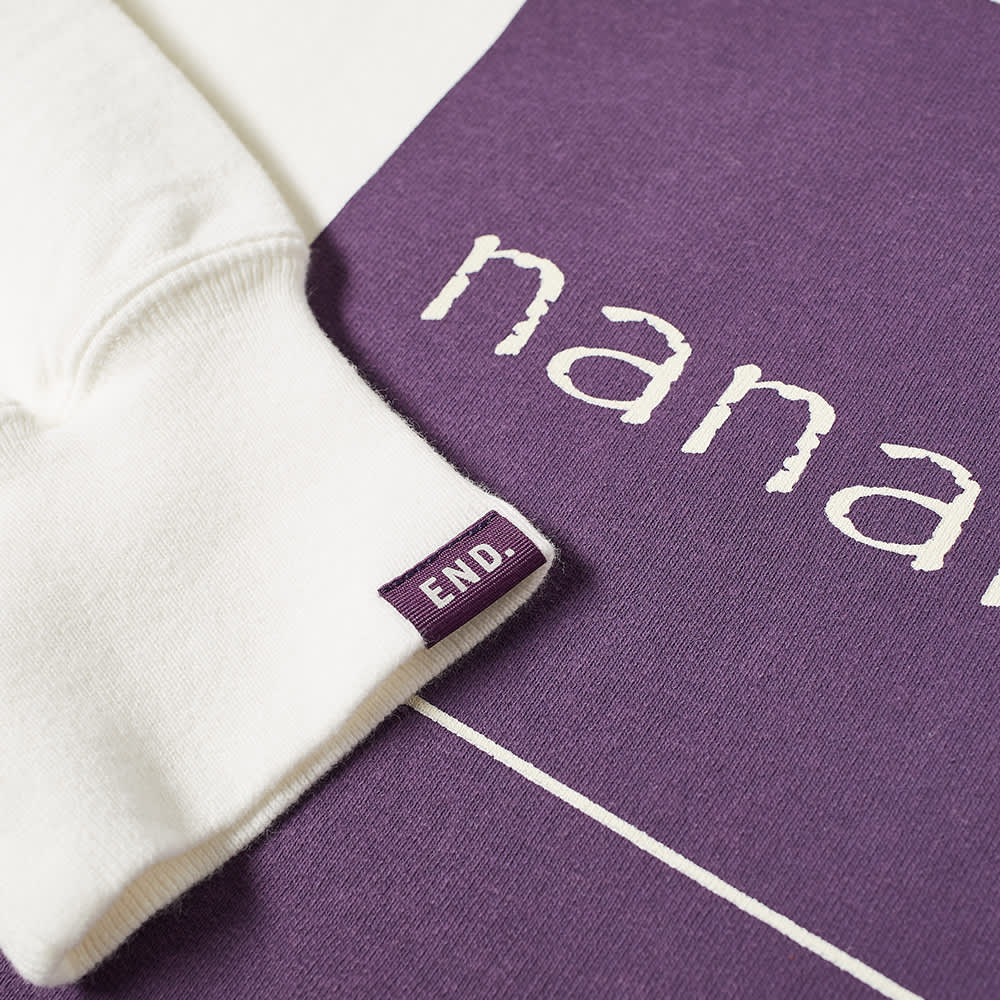 END. x Nanamica Crew Sweat - Off White