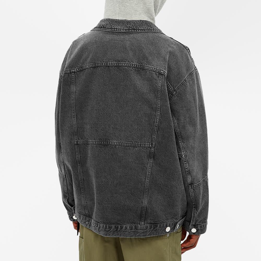 Martine Rose Panelled Denim Jacket - Black Vintage
