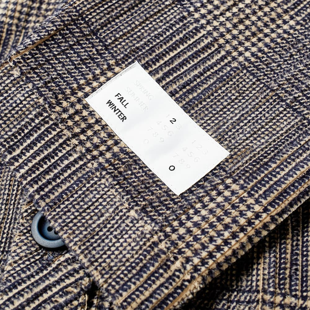 4SDESIGNS Cardigan Shirt - Navy