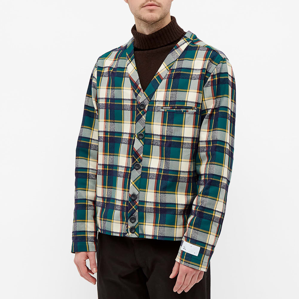 4SDESIGNS Cardigan Shirt - Dark Green