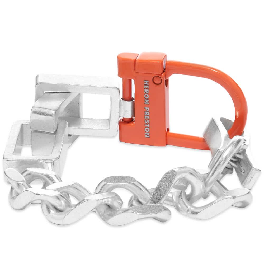 Heron Preston New Multichain Bracelet - Silver