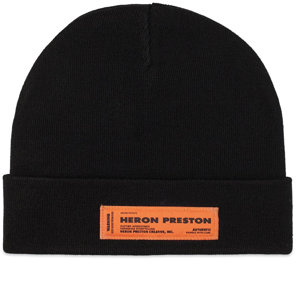 Heron Preston Beanie - Black