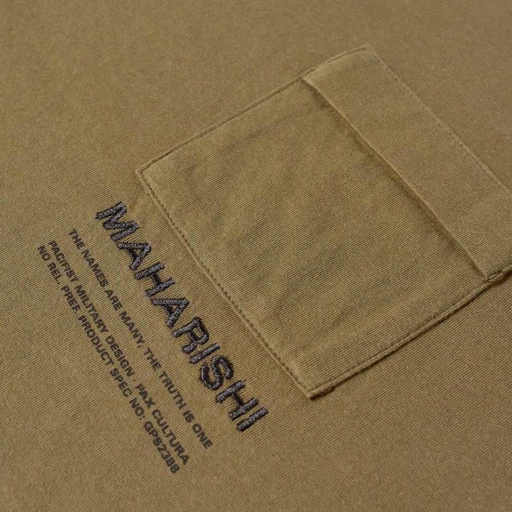 Maharishi MILTYPE Pocket Tee - Olive