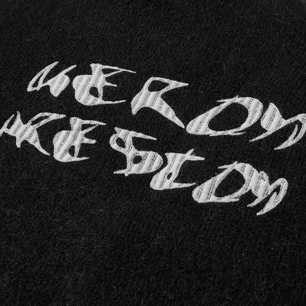 Heron Preston Mohair Cardigan - Black