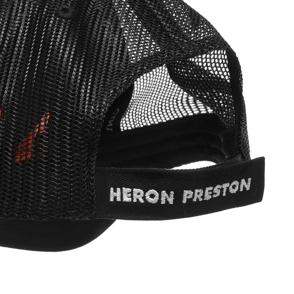 Heron Preston Trading Trucker Hat - Black