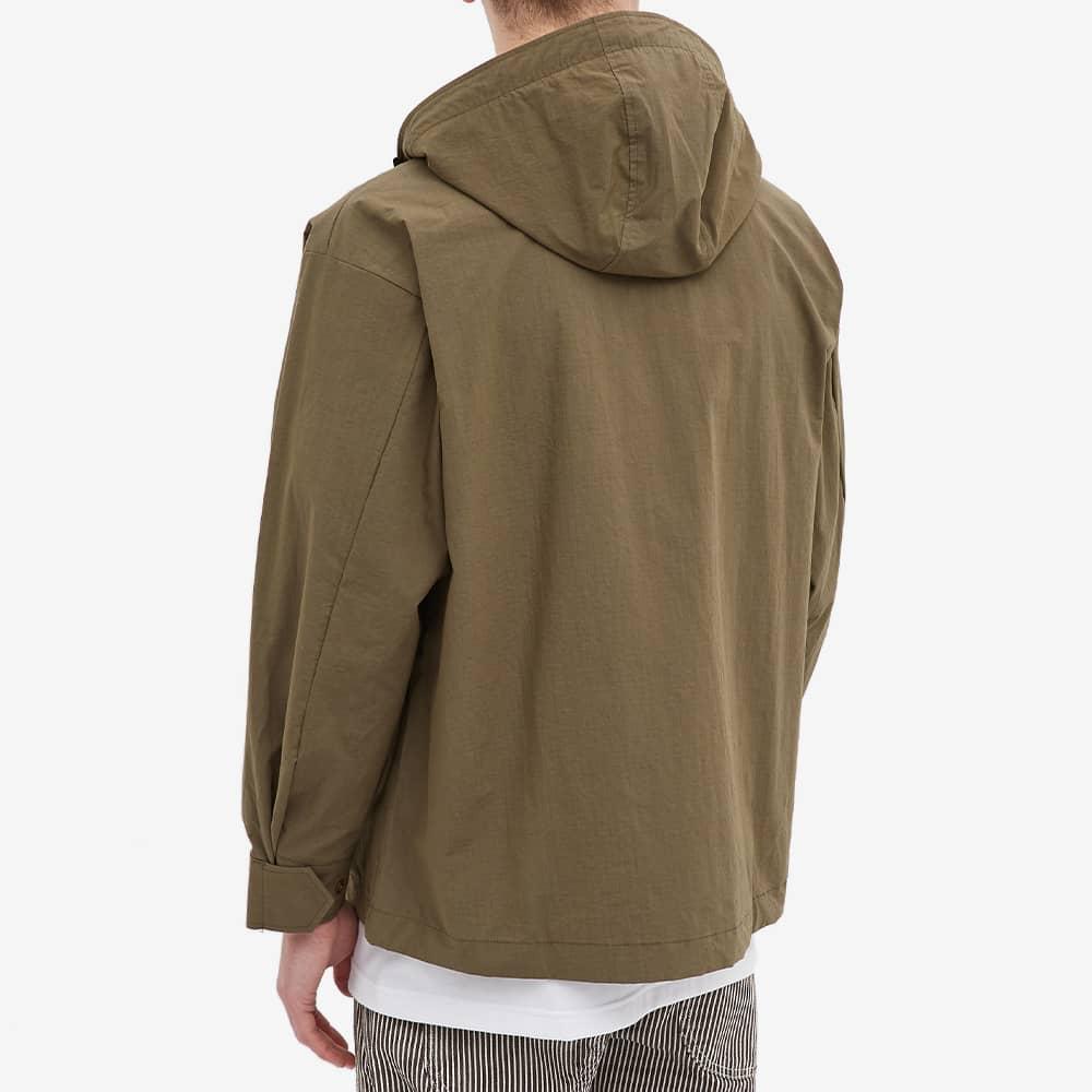 WTAPS Sbs Pocket Hooded Shirt Jacket - Olive Drab