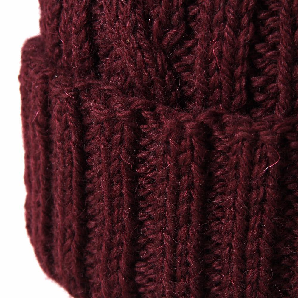 Inverallan Cable Hat - Wine