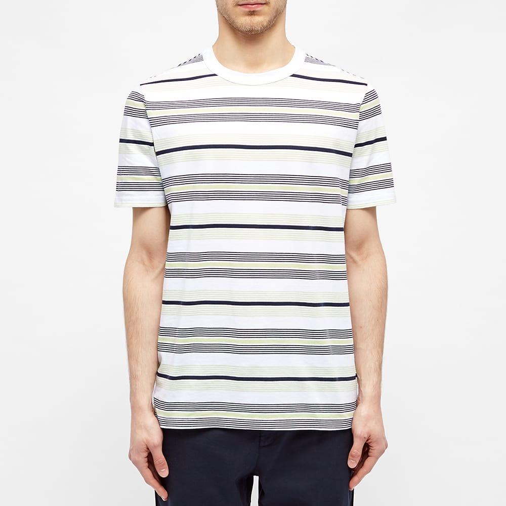 Albam Multi Striped Tee - Navy Stripe