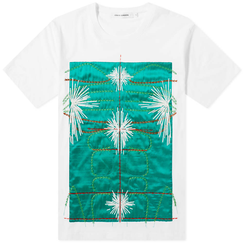Craig Green Embroidered Body Tee - Green