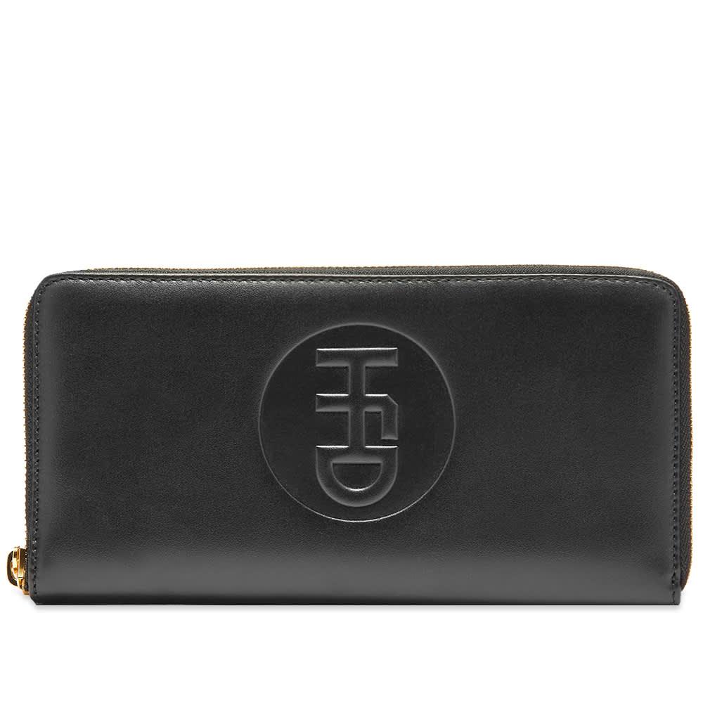 HFD Large Leather Wallet