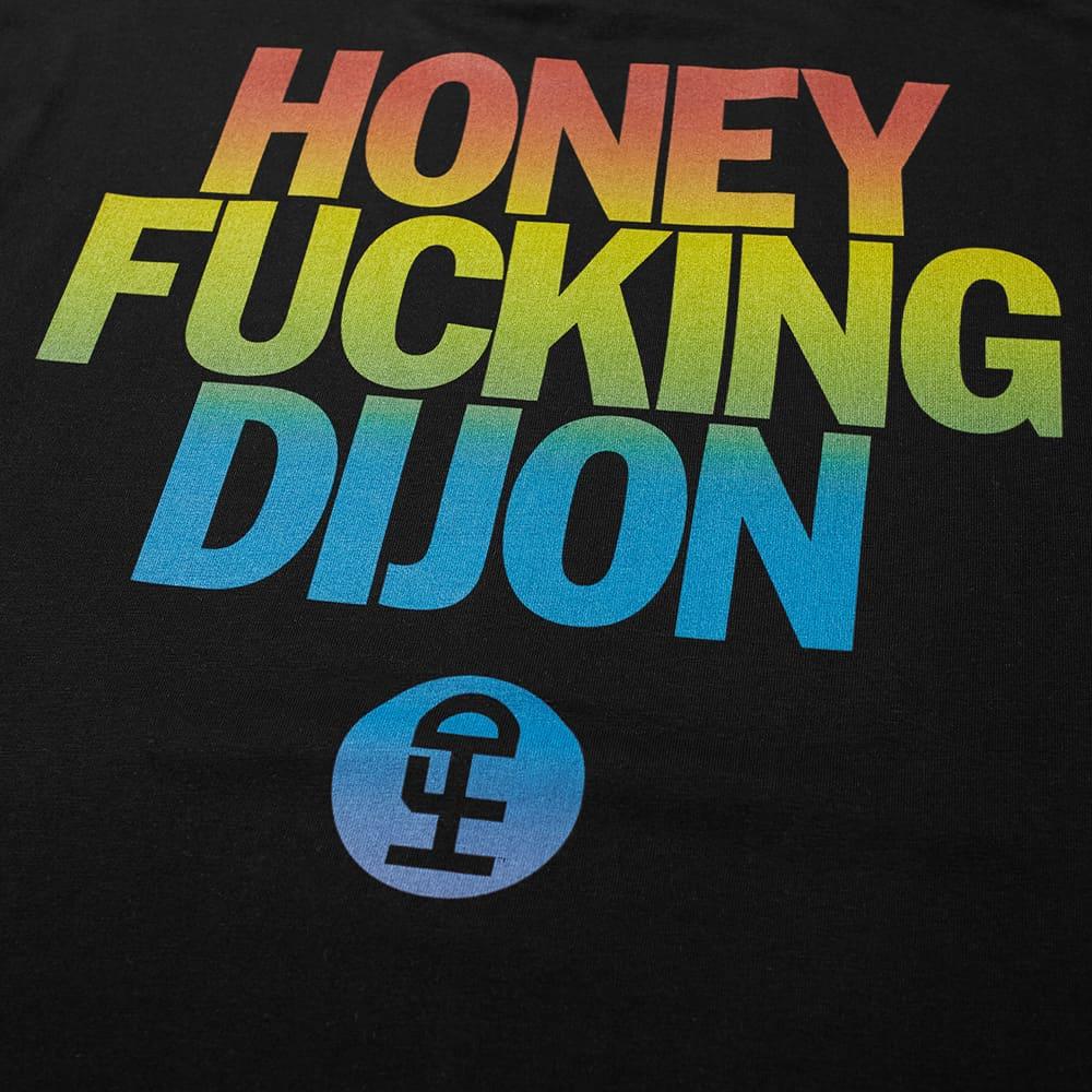 Honey Fucking Dijon Large Logo Tee - Black