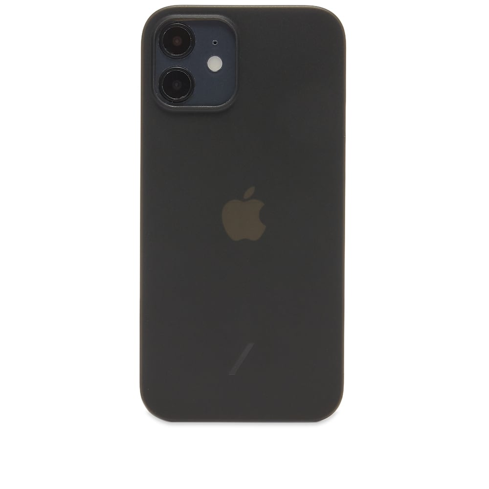 Native Union Clic Air iPhone 12 Case - Smoke