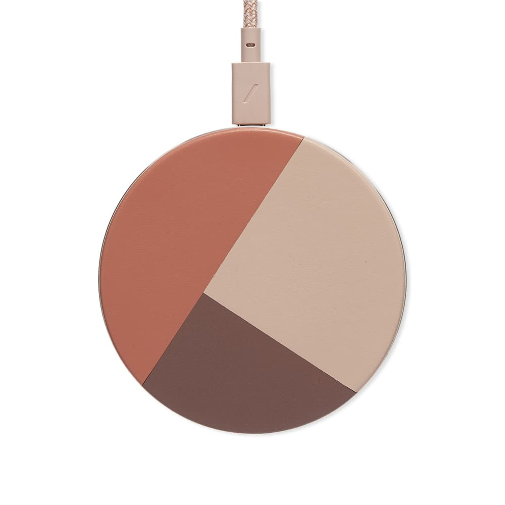 Native Union Drop Marquetry Wireless Charger - Rose