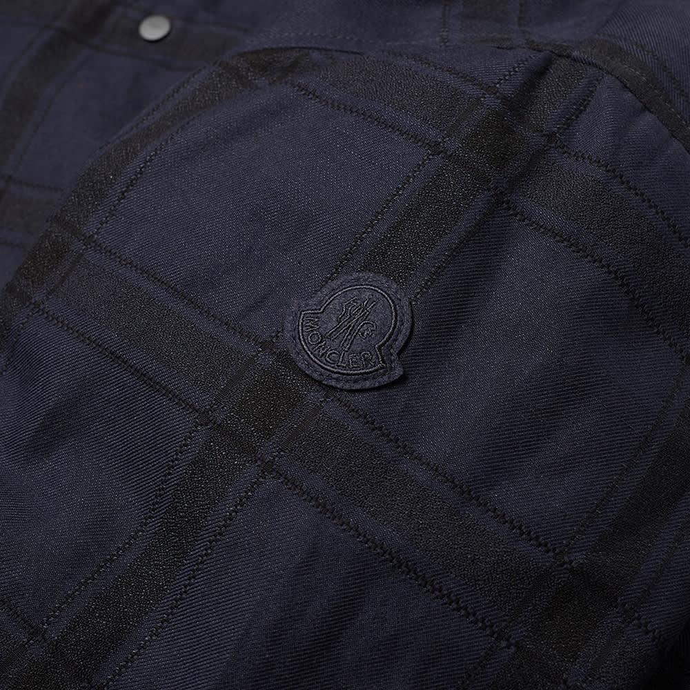 Moncler Genius 2 Moncler 1952 Check Shirt Jacket - Navy