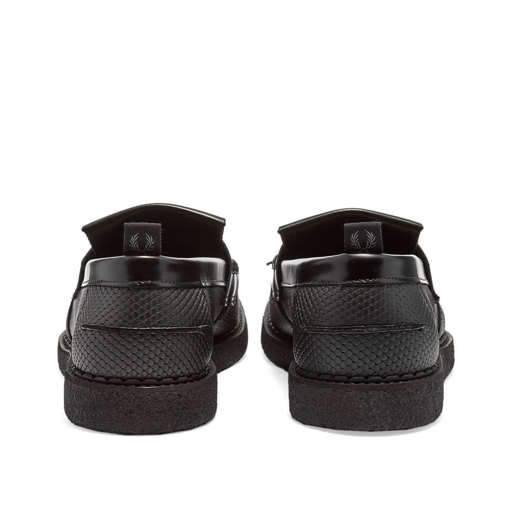 Fred Perry x George Cox Tassel Loafer - Black