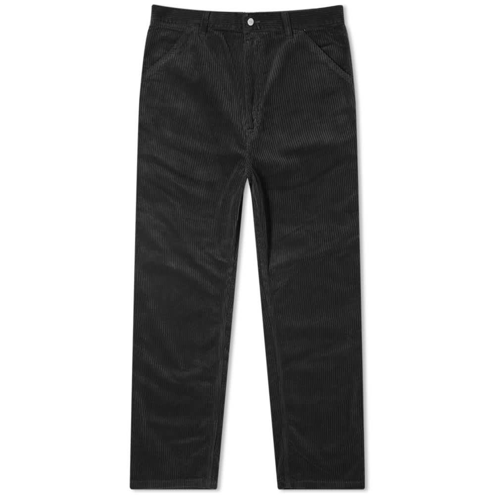 Carhartt WIP Single Knee Corduroy Pant - Black