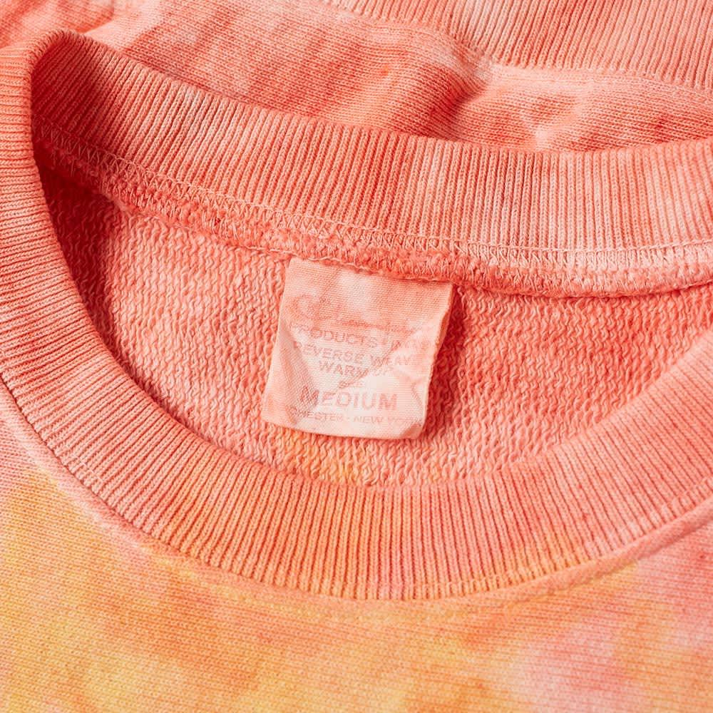 Champion Reverse Weave Tie Dye Weave Crew Sweat - Peach