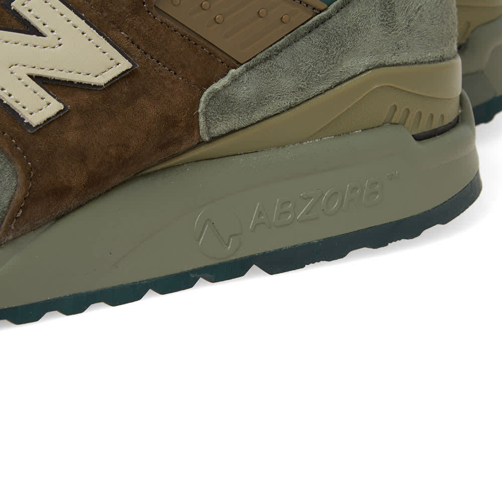 New Balance M998AWA 'Military Pack'  - Made in the USA - Army & Olive