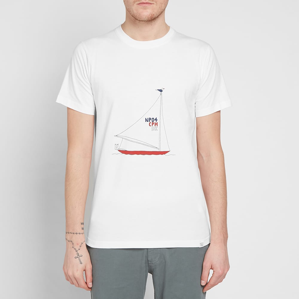 Norse Projects x Daniel Frost Boat Ralph Tee - White