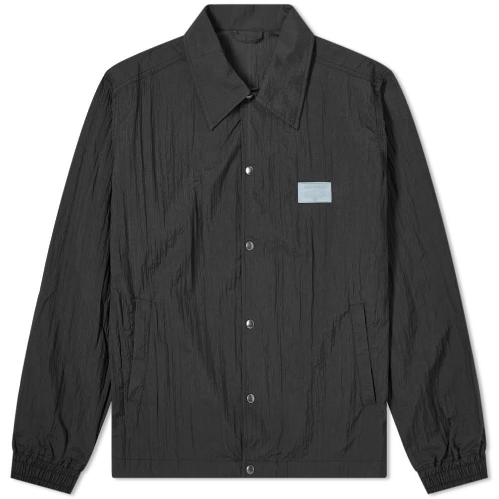 Liam Hodges Crinkle Branded Coach Jacket