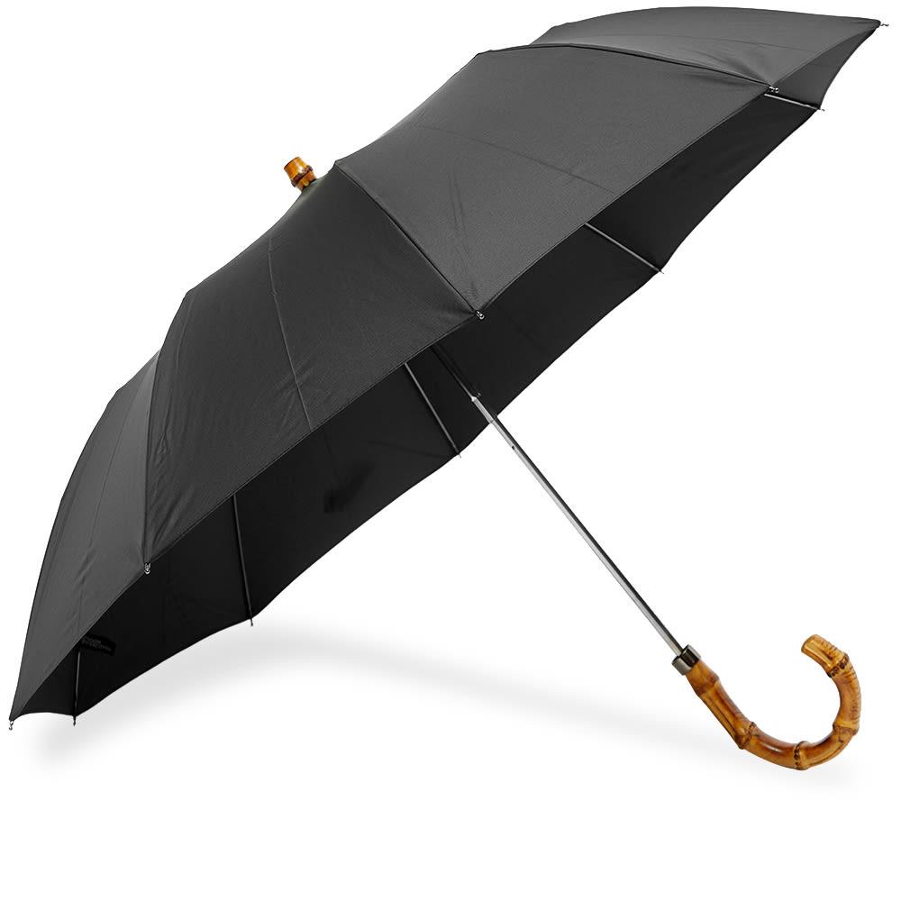 London Undercover Whangee Telescopic Umbrella - Black