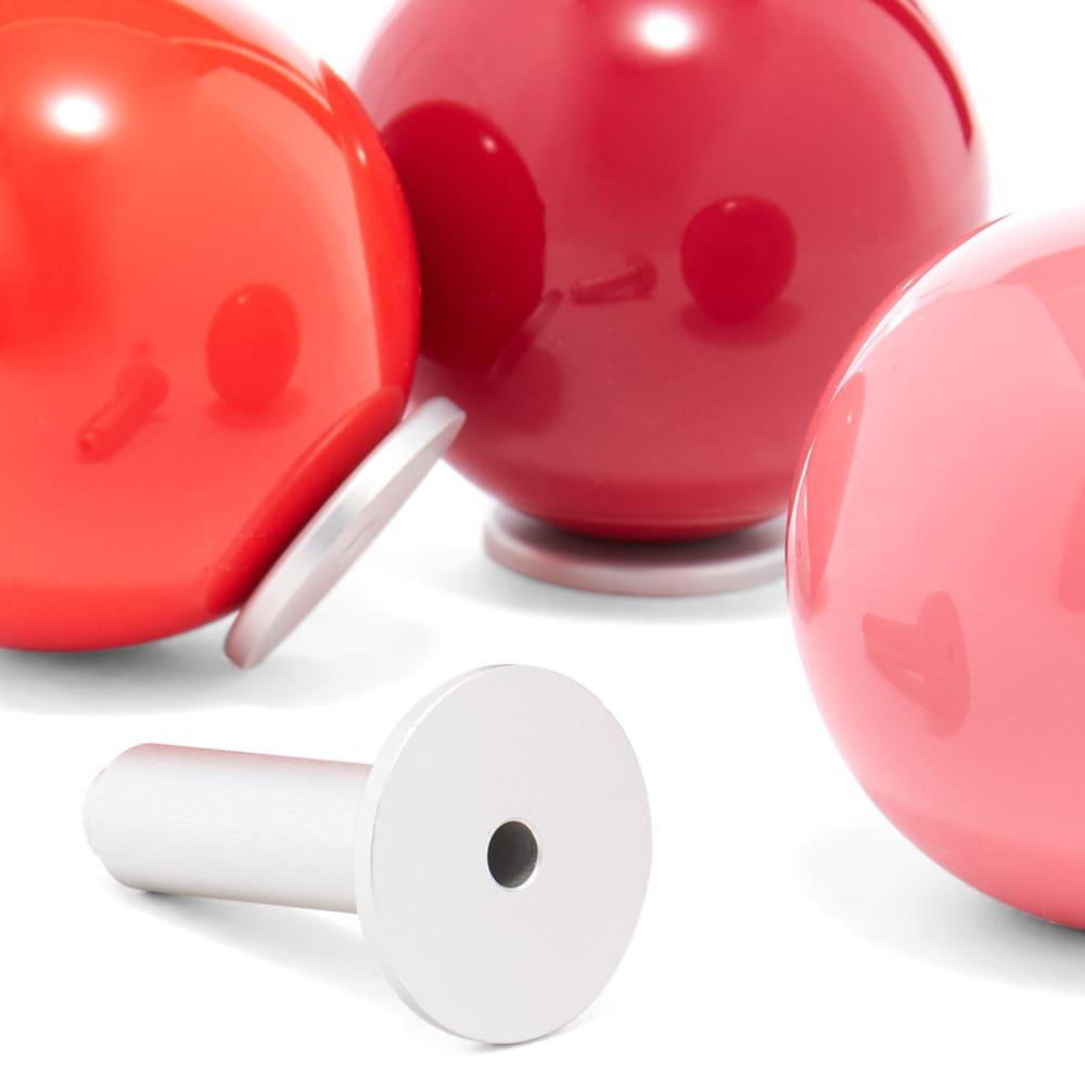 Vitra Hella Jongerius 2015 Coat Dots - 3 Pack - Red