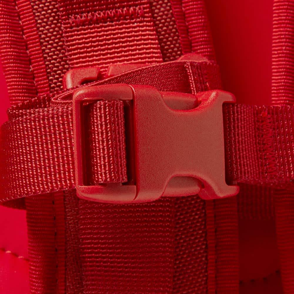 Visvim Cordura 20L Veggie Suede Backpack - Red
