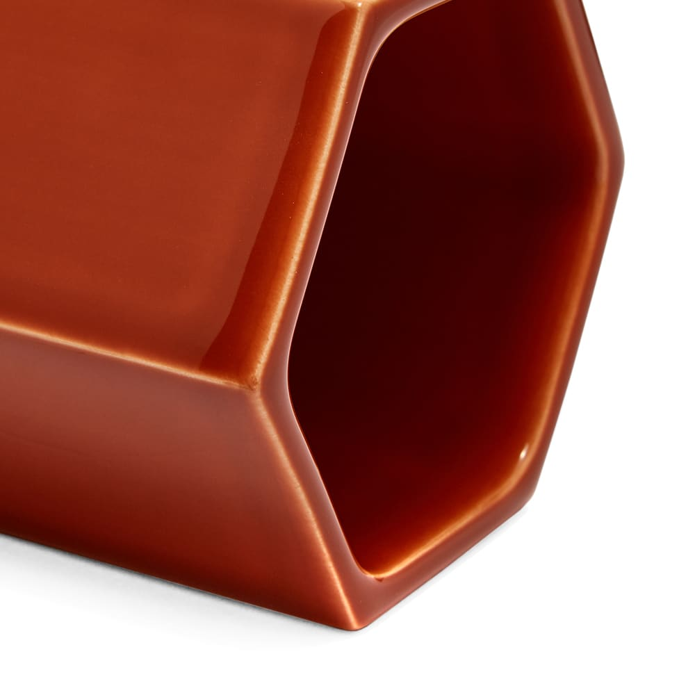 Vitra Jasper Morrison 2019 Hexagonal Containers - Pack of 3 - Rusty Orange