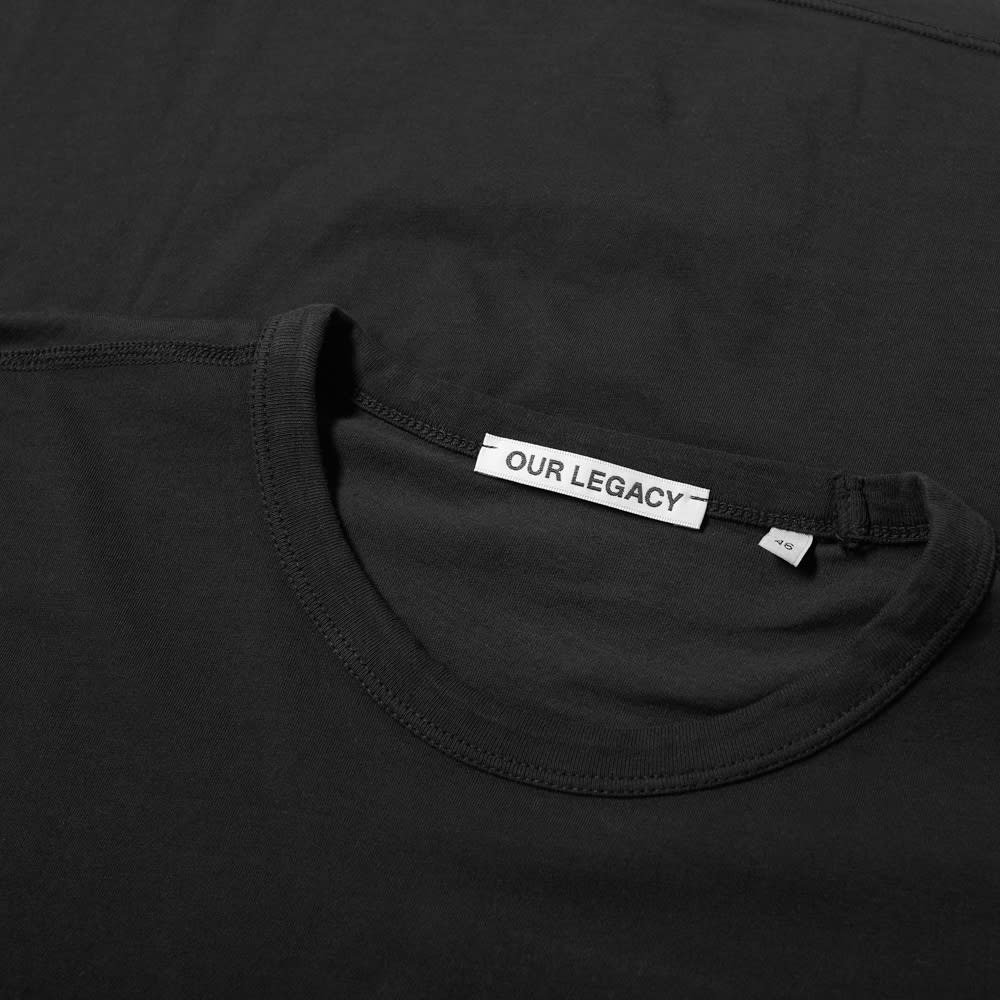 Our Legacy New Box Tee - Black Clean